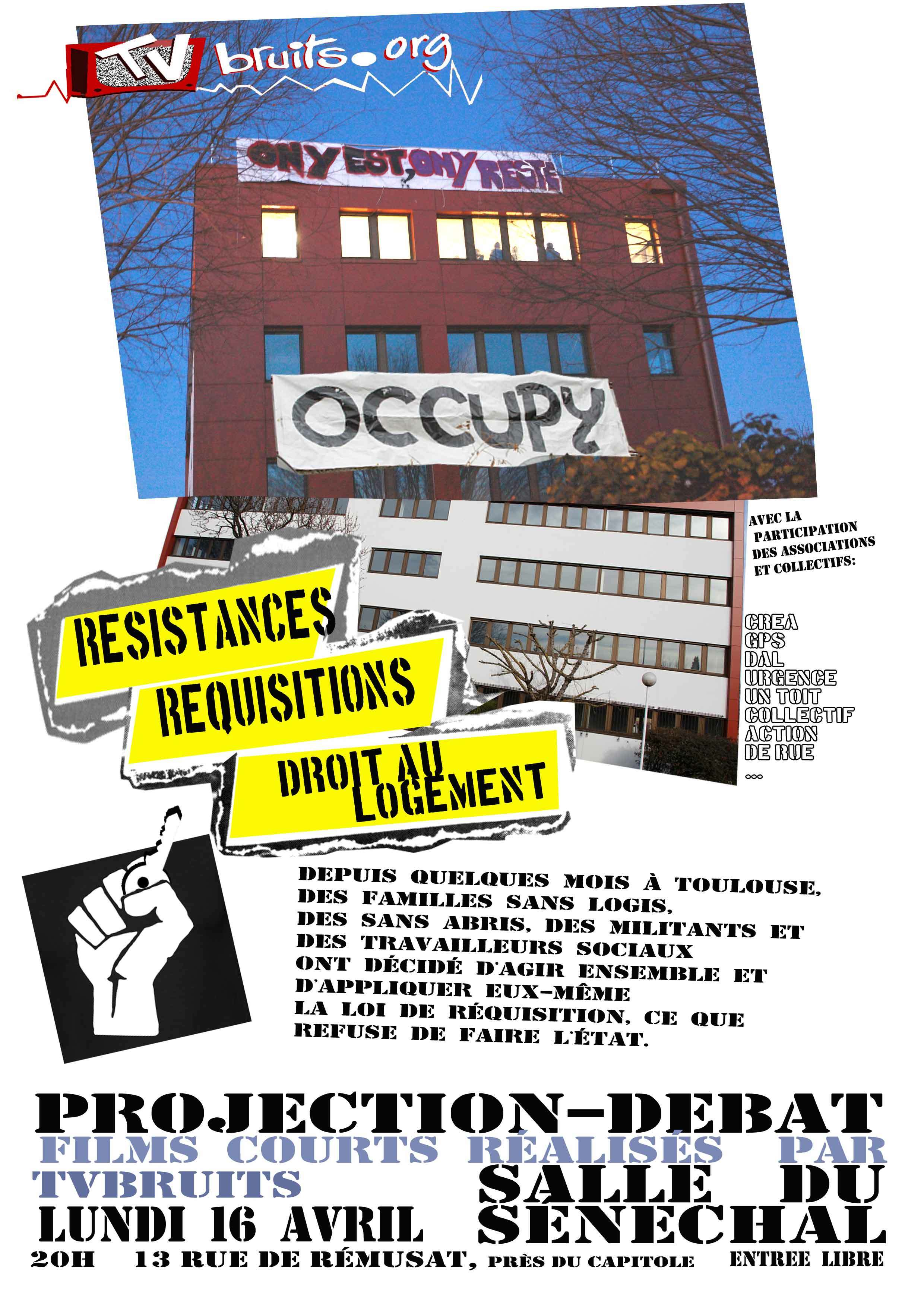 Affiche projection 16 avril